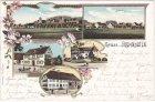 88273 Fronhofen (Fronreute), Farblitho, Ansichtskarte, ca. 1900