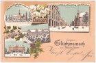 89584 Ehingen an der Donau, Farblitho, Winterlitho, ca. 1895