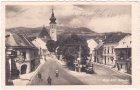 Wien-Grinzing, Straßenansicht, Ansichtskarte, ca. 1935