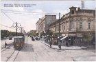 Belgrad (Beograd), Rue du roi Alexander, Straßenbahn, ca. 1920