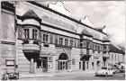 Eisenstadt, Straßenansicht, Rathaus, Ansichtskarte, ca. 1960