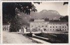 Hohenems, Straßenansicht, Gasthaus Zur Post, Ansichtskarte, ca. 1930