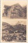 Schruns (Vorarlberg), u.a. Gebäudeansicht, Ansichtskarte, ca. 1925